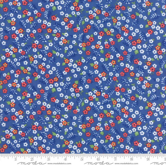 Feed Sacks True Blue Cornflower