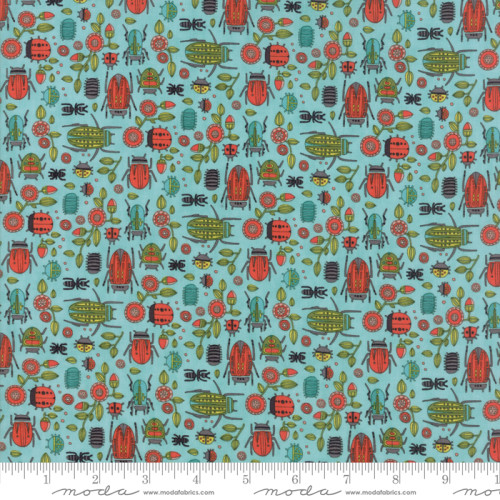 MOda; Dear Mum; beetles and bugs print