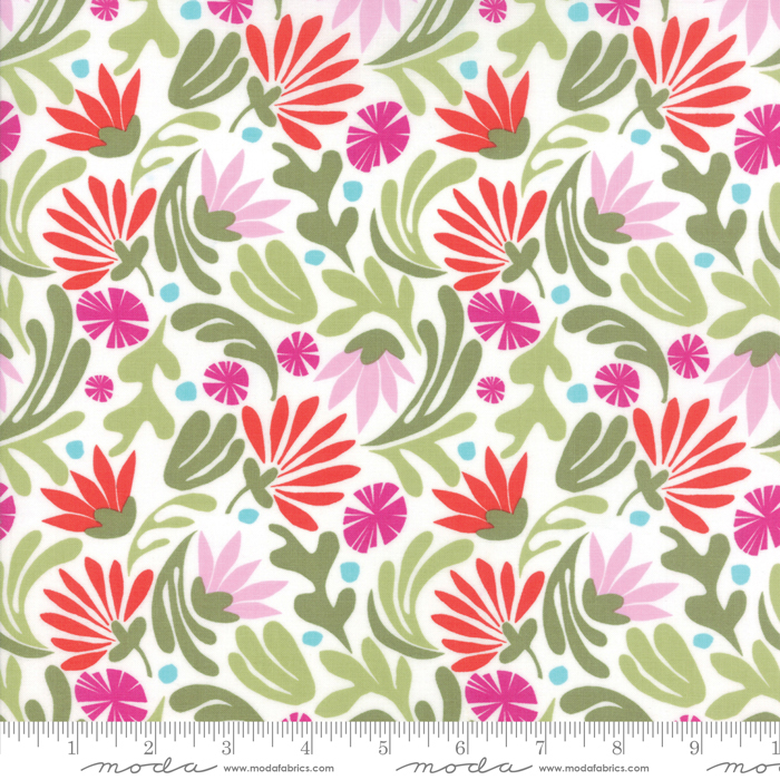 Bungalow Jazz Berry Floral