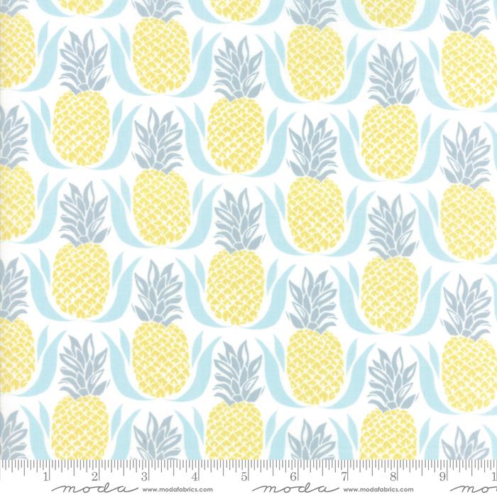 Bungalow Pineapple White Aqua