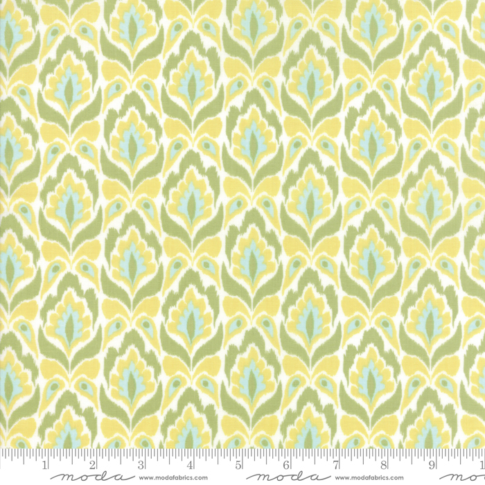 Bungalow Tapestry Lemon Lime