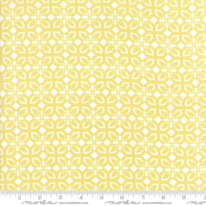 Bungalow Tile Lemon Flower