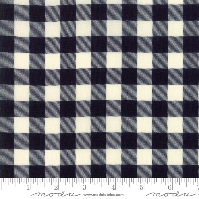Black and White Plaid:  Overnight Delivery by Sweetwater for Moda