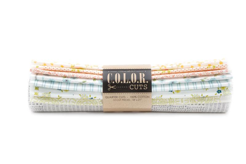 Color Cuts Sugar On Top Fat Quarter Bundle ( 12 cuts) - Moda