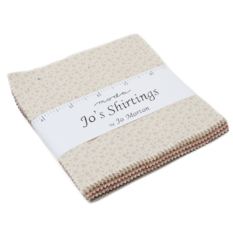 Jos Shirtings Charm Pack