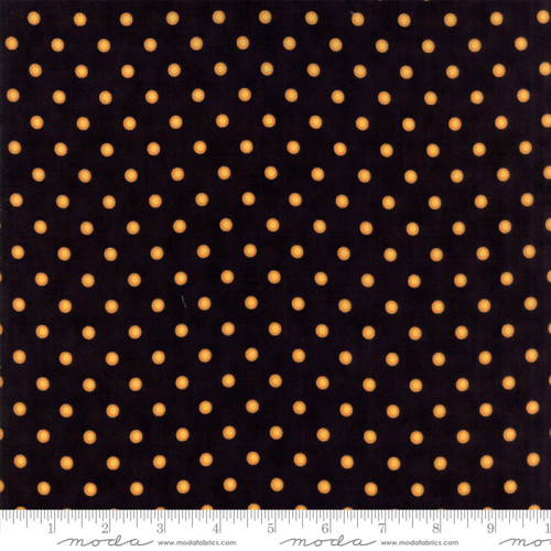 Dot Dot Boo Black Orange