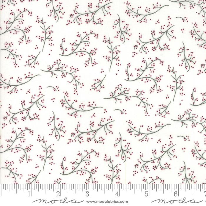 ONCE UPON A MEMORY OFF WHITE WITH BRANCHES & BERRIES 6733-11