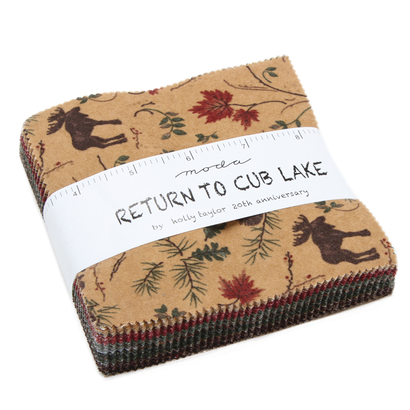 Return To Cub Lake Flan Charm Pack