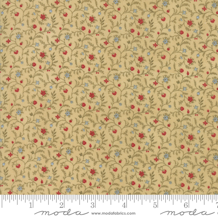 ROSEWOOD VANILLA WITH SMALL FLOWERS 44188-11