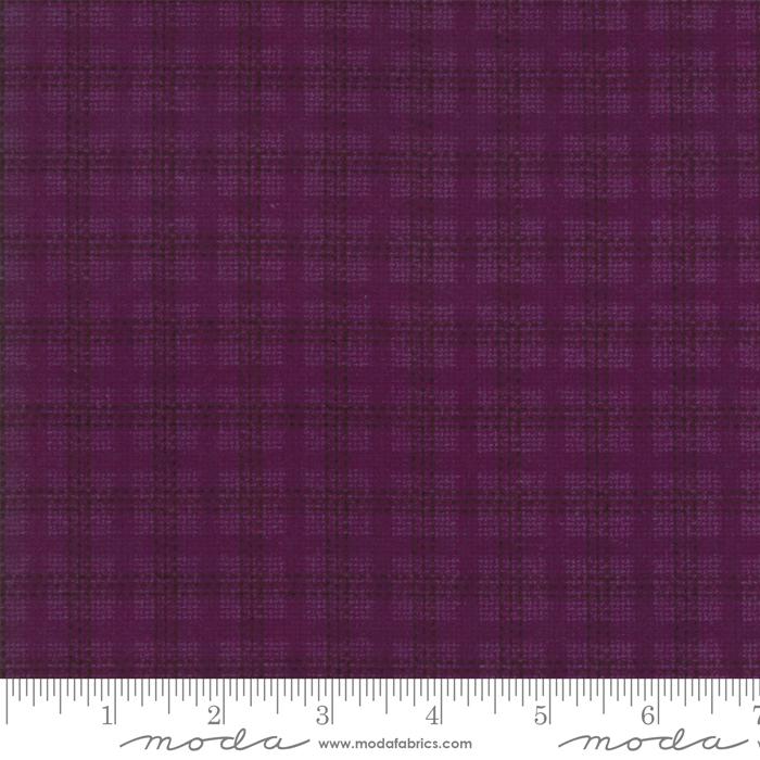 Moda Flannel Wool Needle VI Grape 1254 26F