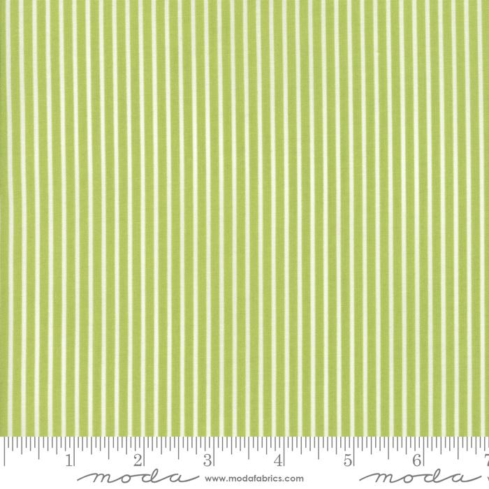 Smitten Pinstripe Green
