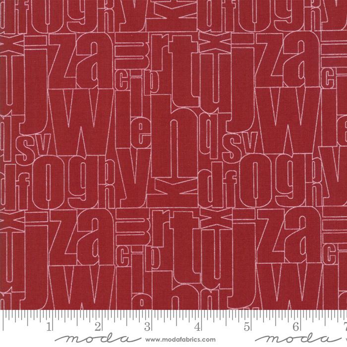 Flourish Brick Red Alpha 10911-12