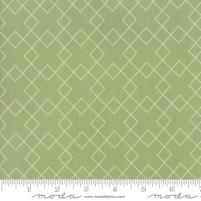 Flourish Celadon Checker 10913-15