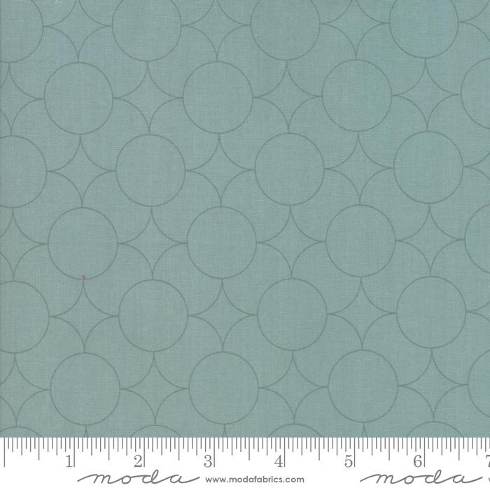 Flourish Dusty Jade Deep Blue 10914-16