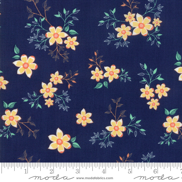 Woodland Secrets Navy Floral