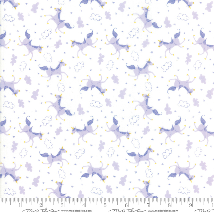 Moda Once Upon A Time White Lavender 20596 21