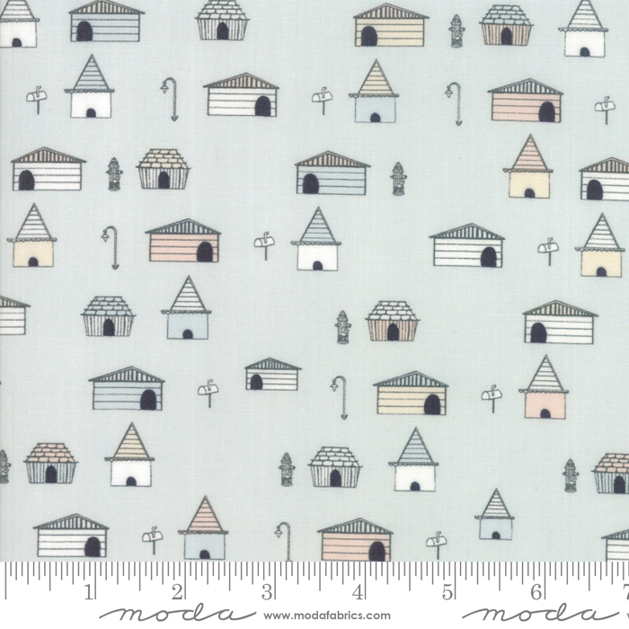 49031 13 Howl Hound by Lydia Nelson for Moda Fabrics. 100% cotton 43wide