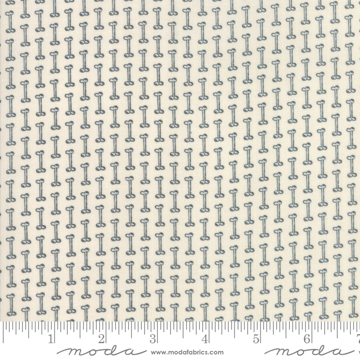 Howl Hound by Lydia Nelson - Bones - Natural - Moda 49034 12 - REMNANT