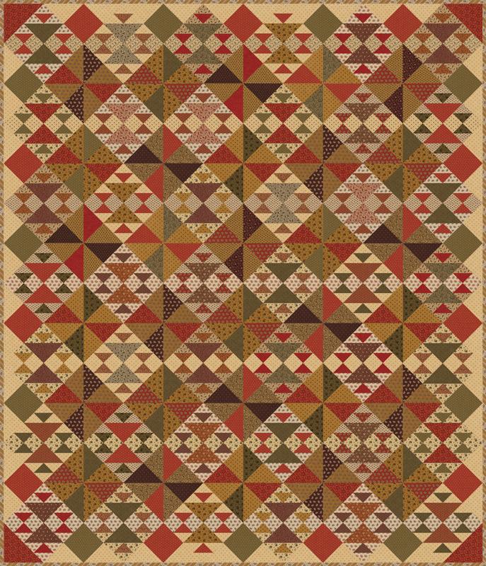 Spice It Up Quilt Kit by Jo Morton