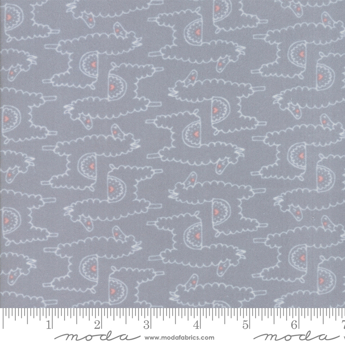 Soft Sweet Grey flannel