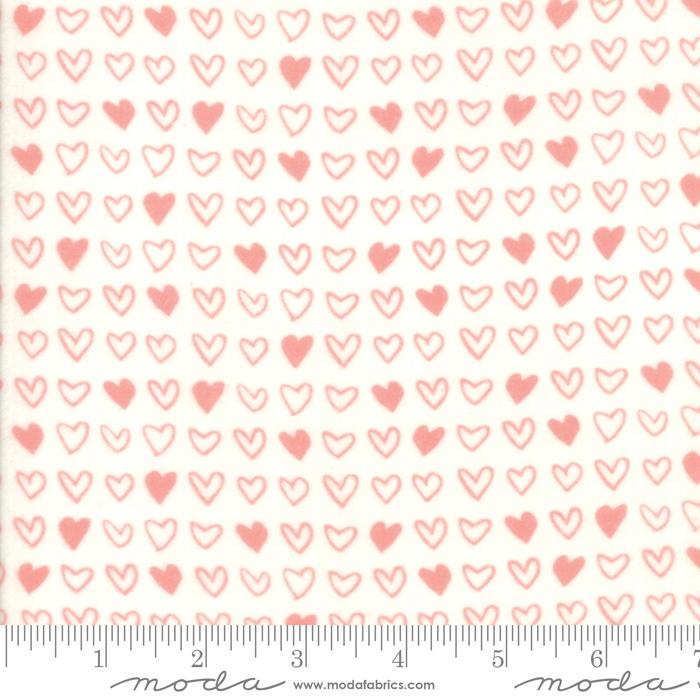 Moda Stacy Iest Hsu Soft Sweet Flannel Pink Cream 20608 11F