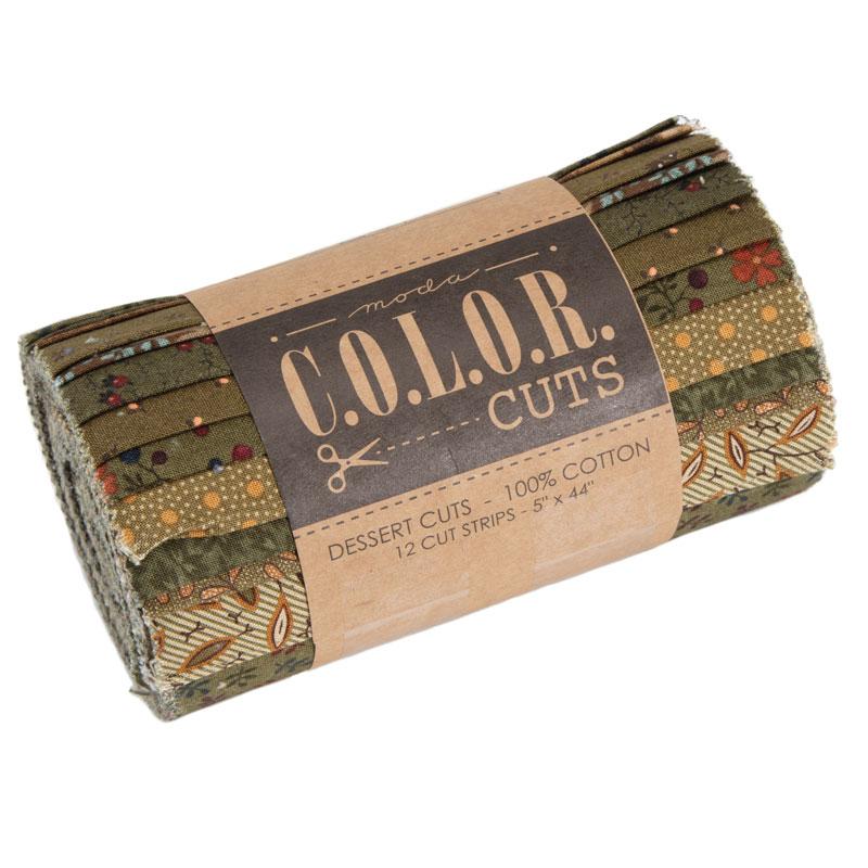 Color Cuts Dessert Roll Juniper
