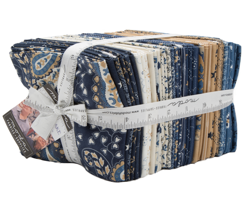 Fabric PreCuts  - Crystal Lake FQ Bundle 38