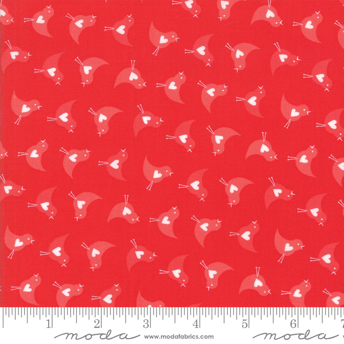 REDiculously In Love Tonal Red Birds