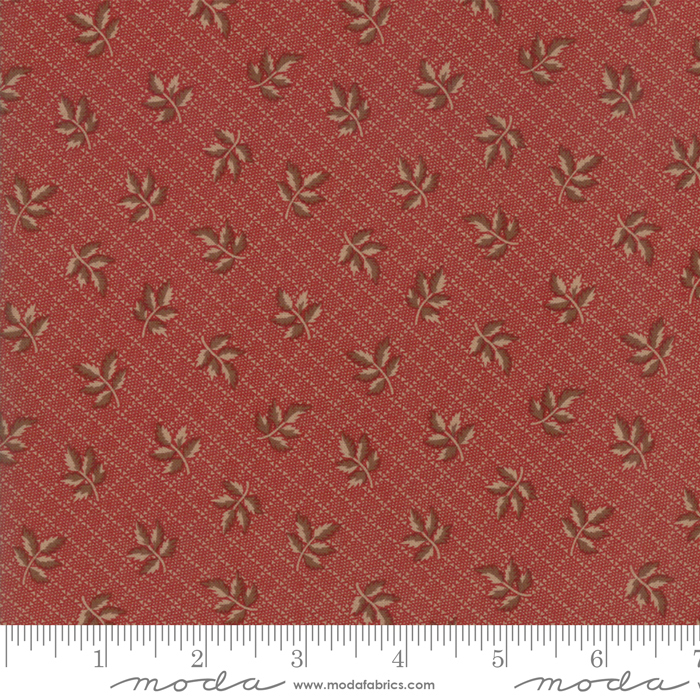 Fabric - Hickory Road Brick Red - 38061 28
