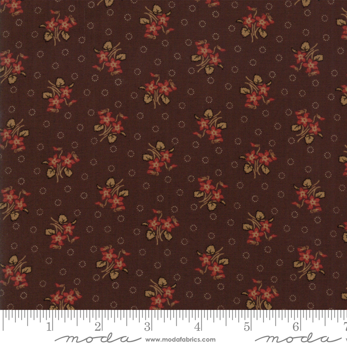 Fabric - Hickory Road Dk Brn - 38062 15