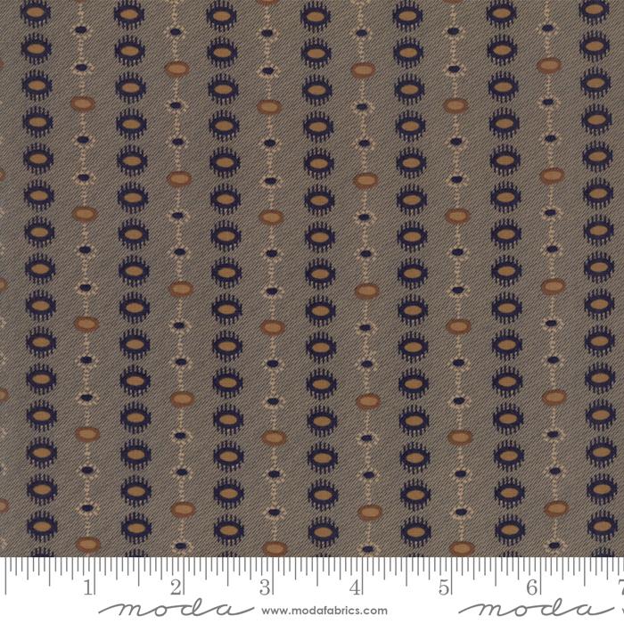 Fabric - Hickory Road Indigo - 38064 17
