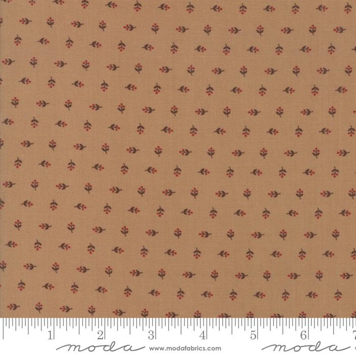 Fabric - Hickory Road Lt Brn - 38066 13