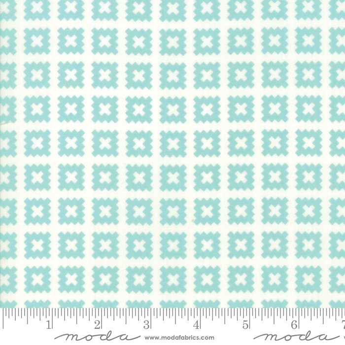 Little Snippets Quilt Blocks Aqua
