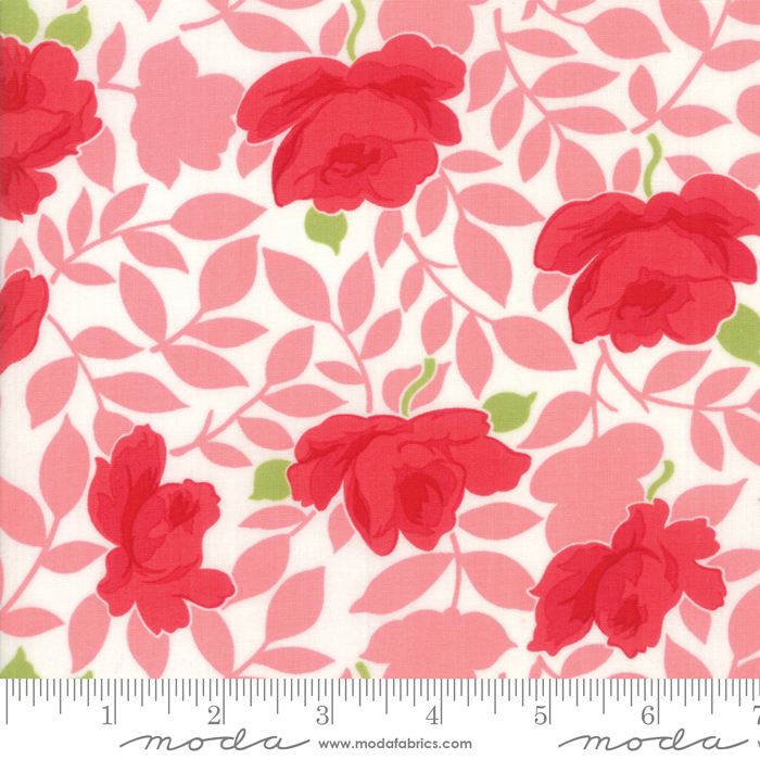 54 Little Snippets Floral Lawns Pink