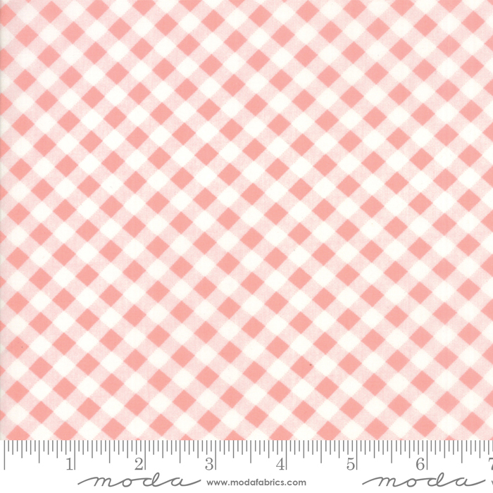 54 Little Snippets Gingham Lawns Pink