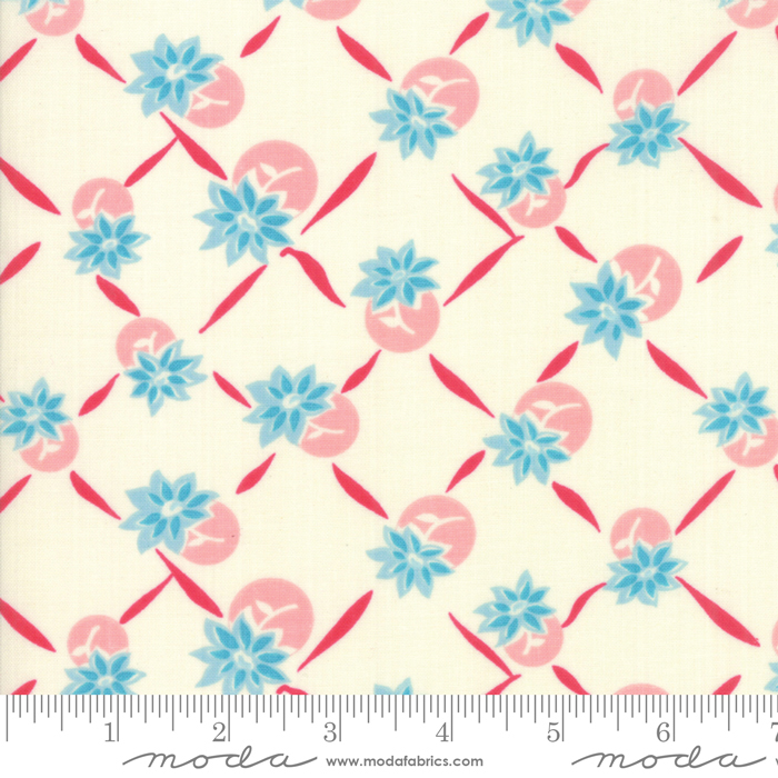 Cheeky Blue Raspberry Sweet Cream Giggles by Urban Chiks for Moda 31144-11