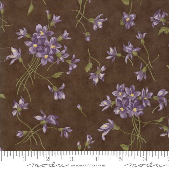 Sweet Violet - Earth w/violets