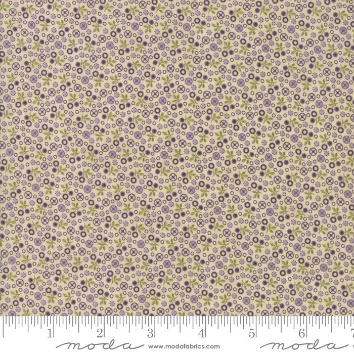 Sweet Violet - Ivory mini flower 2224 11