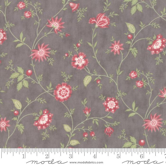 44193 12 Porcelain - Heirloom Floral Dove by Moda