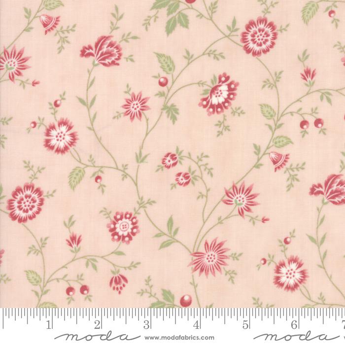 Porcelain Heirloom Floral Light Pink