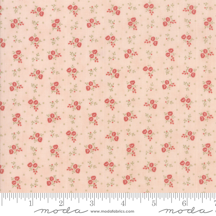 Moda Porcelain  Blossom Small Flowers and Dots