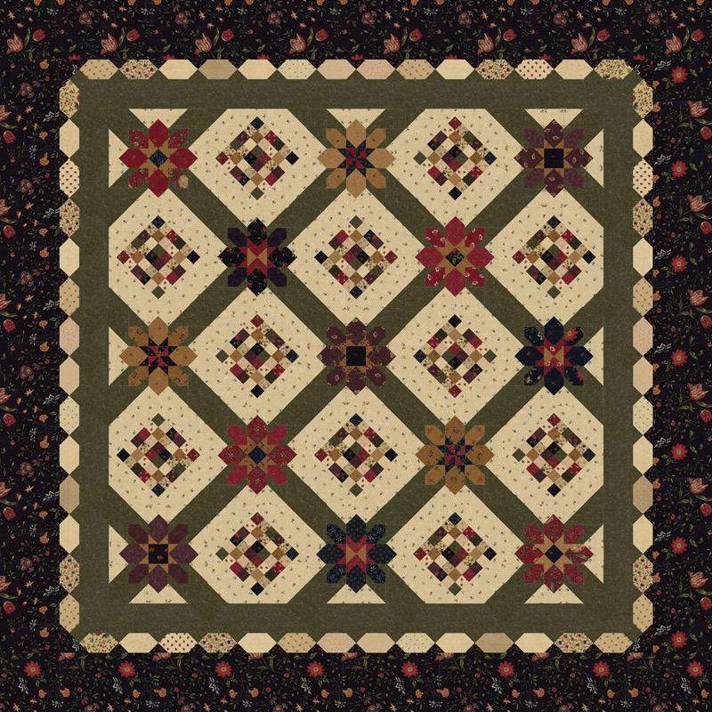 On Meadowlark Pond Quilt Kit