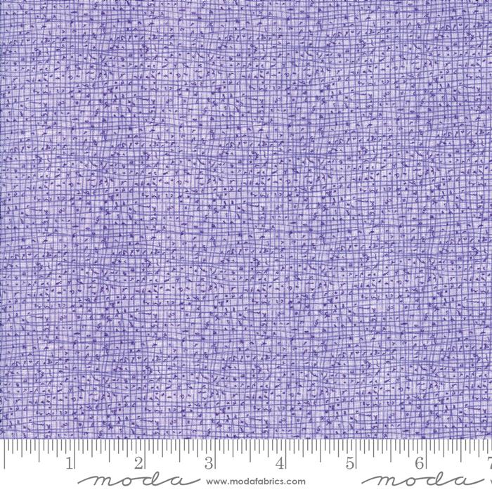 Sweet Pea Lily Lavender Grid