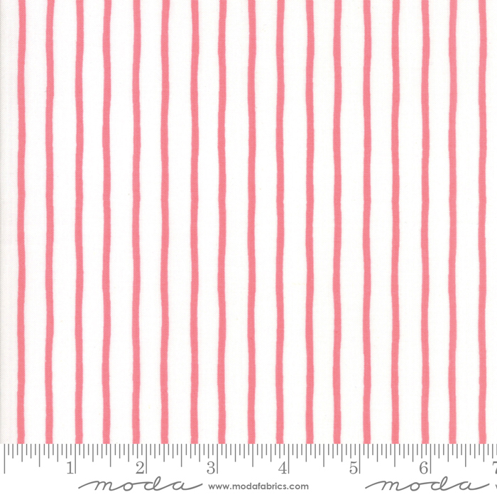 Lollipop Garden Raspberry Handmade Stripe 5086-11