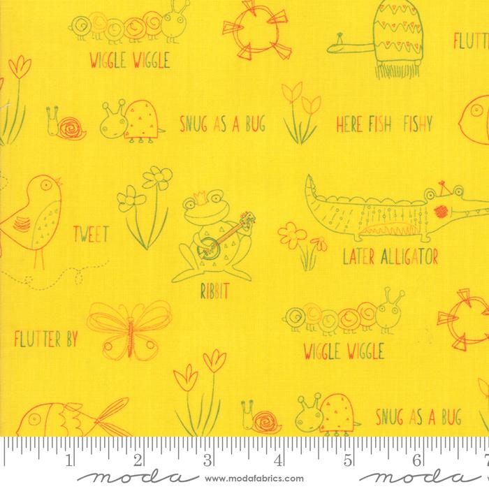 Moda - Later Alligator-Tossed Words/Sunshine - 17981 14