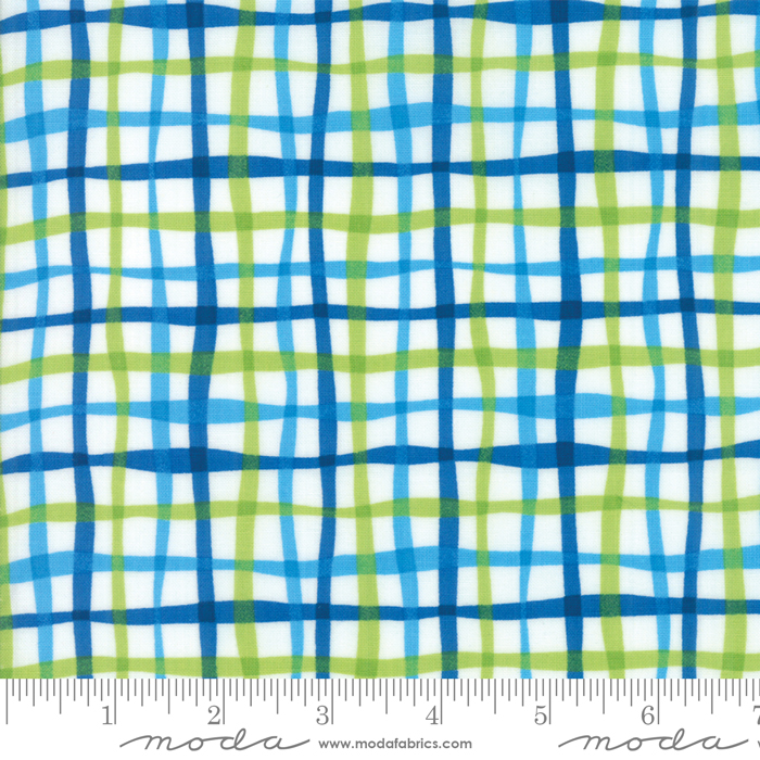 Later Alligator- Cloud Watercolor Plaid