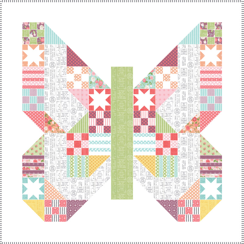 Quilt Kit - Lollipop Garden Quilt Kit xx