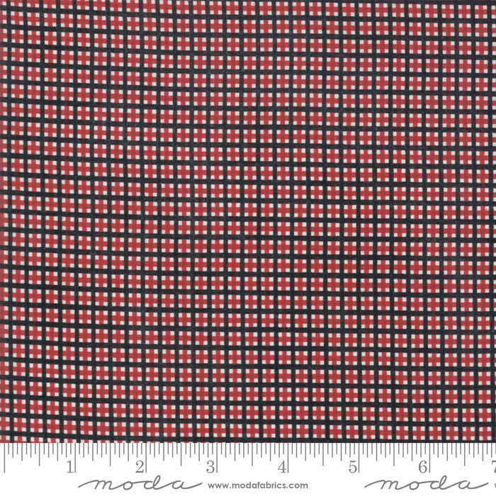 Merry Starts Here Red Black Christmas Plaid by Sweetwater for Moda 5737-11