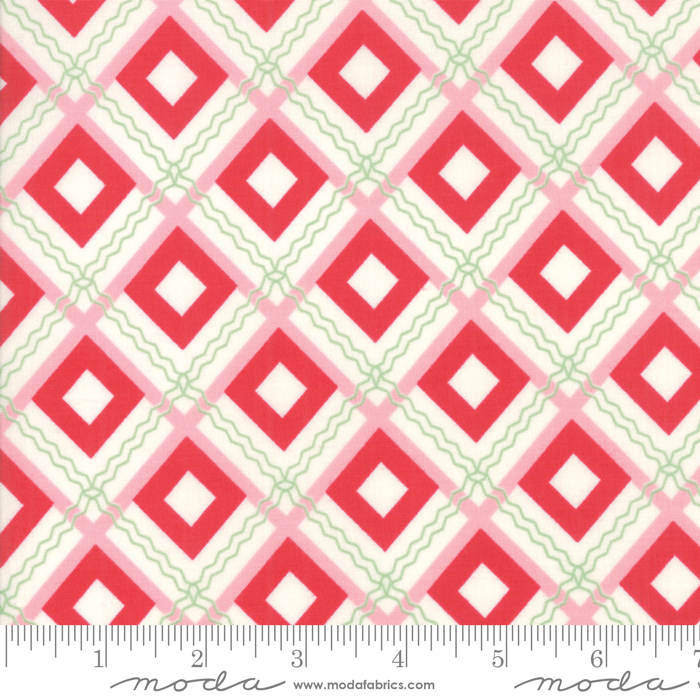 Sweet Christmas Peppermint - 2 3/4 yard cut