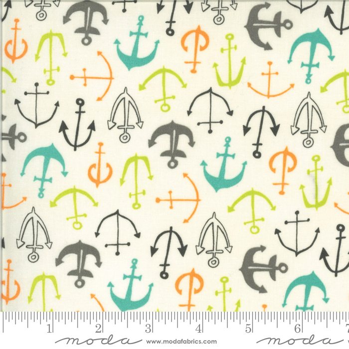 16722 11 Fish Tales - Anchors in Multi
